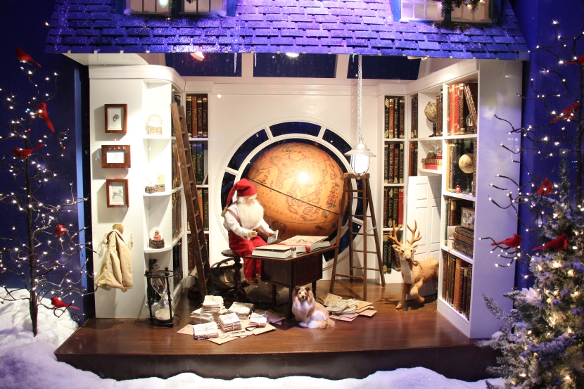 Christmas Window at Lord and Taylor